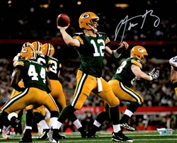 AARON RODGERS SIGNED 8X10 PACKERS PHOTO #8 - FAN