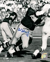 BOB SKORONSKI SIGNED 8X10 PACKERS PHOTO #3