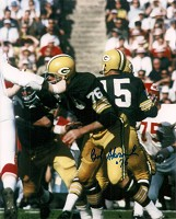 BOB SKORONSKI SIGNED 8X10 PACKERS PHOTO #2