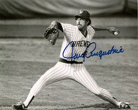 JERRY AUGUSTINE SIGNED 8X10 BREWERS PHOTO #2