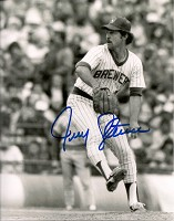 JERRY AUGUSTINE SIGNED 8X10 BREWERS PHOTO #3
