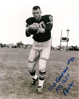 DICK DESCHAINE SIGNED 8X10 PACKERS PHOTO