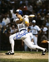 GORMAN THOMAS SIGNED 8X10 BREWERS PHOTO #4
