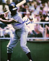 TOMMY HARPER SIGNED 8X10 BREWERS PHOTO #2