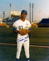 TOMMY HARPER SIGNED 8X10 PILOTS PHOTO