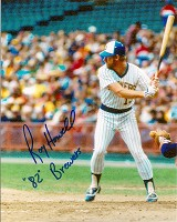 ROY HOWELL SIGNED 8X10 BREWERS PHOTO #4