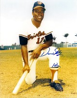 DAVE MAY SIGNED 8X10 ORIOLES PHOTO