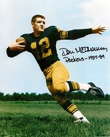 DON McILHENNY SIGNED 8X10 PACKERS PHOTO