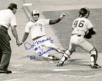 DON MONEY SIGNED 8X10 BREWER PHOTO #2