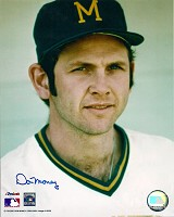 DON MONEY SIGNED 8X10 BREWERS PHOTO #5