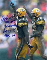 CRAIG NEWSOME SIGNED 8X10 PACKERS PHOTO #4