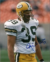 MIKE PRIOR SIGNED 8X10 PACKERS PHOTO