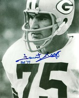 FORREST GREGG SIGNED 8X10 PACKERS PHOTO #3