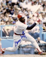 GEORGE SCOTT SIGNED 8X10 RED SOX PHOTO