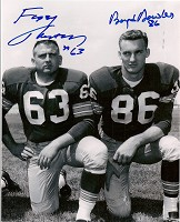 FUZZY THURSTON & BOYD DOWLER SIGNED 8X10 PHOTO